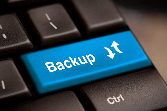 How do I backup my files